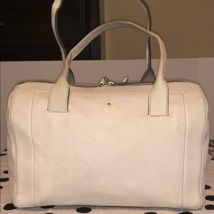 kate spade New York Mansfield Liv leather beige